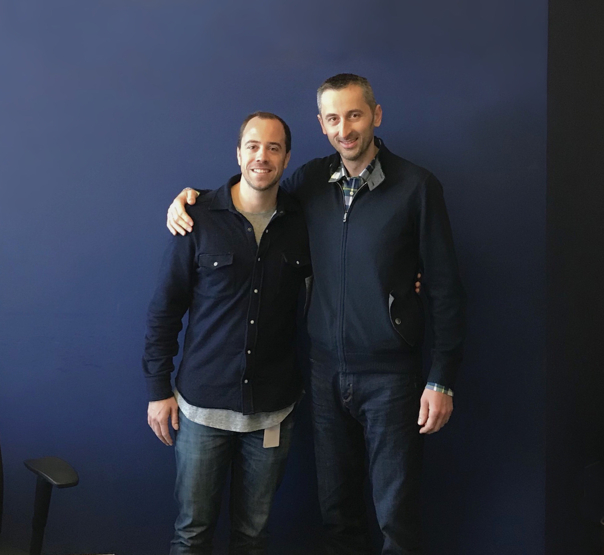 Sinisa Grgic with Charles Guillemet